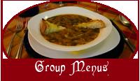 Duca di Orvieto - group menus