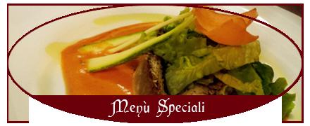 Duca di Orvieto - menu speciali